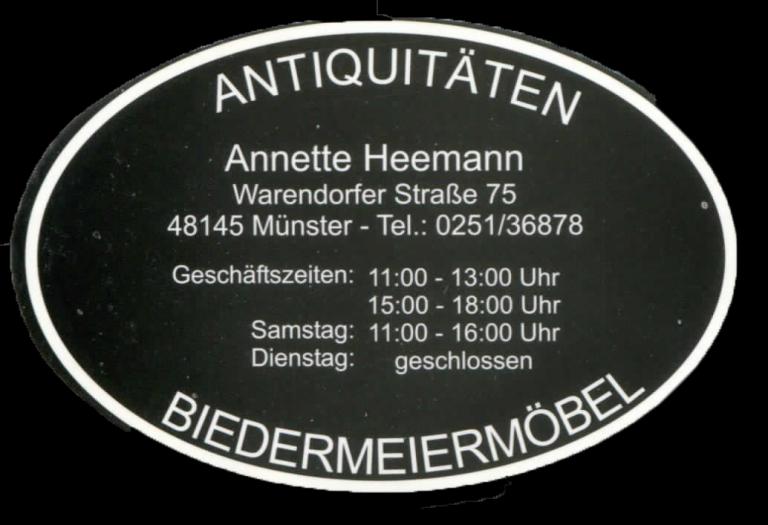 Antiquitäten Annette Heemann Münster
